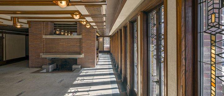 Robie House To Begin Interior Restoration Frank Lloyd